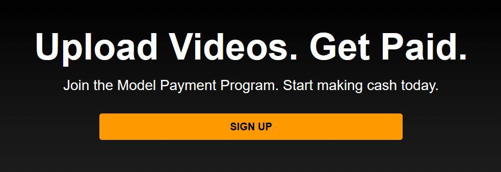 WebCam Model Payment program Pornhub